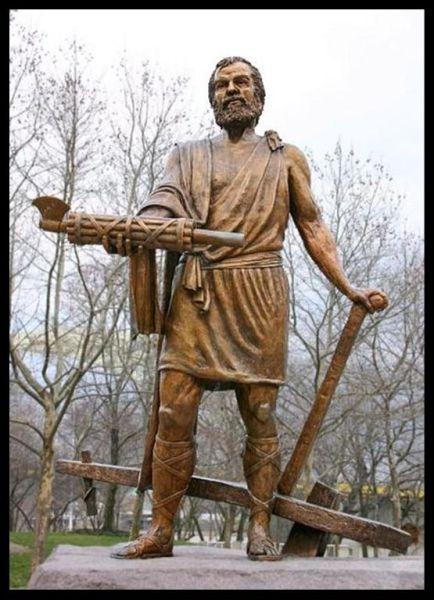 Michelangelo staty uppror grannar